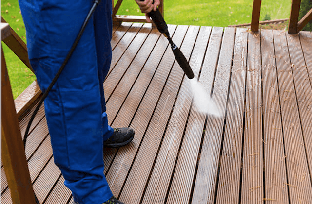 deck cleaning new braunfels